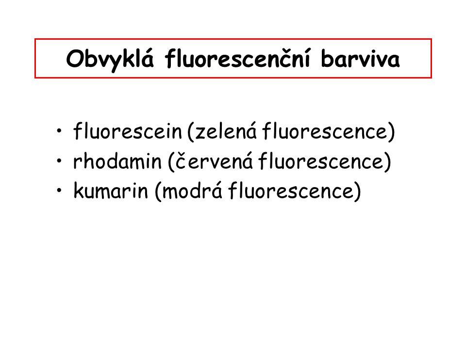 Obvyklá fluorescenční barviva