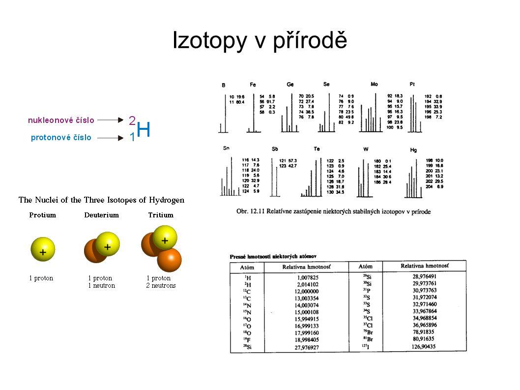 Izotopy v přírodě