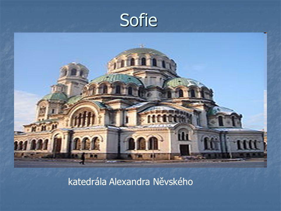 Sofie katedrála Alexandra Něvského