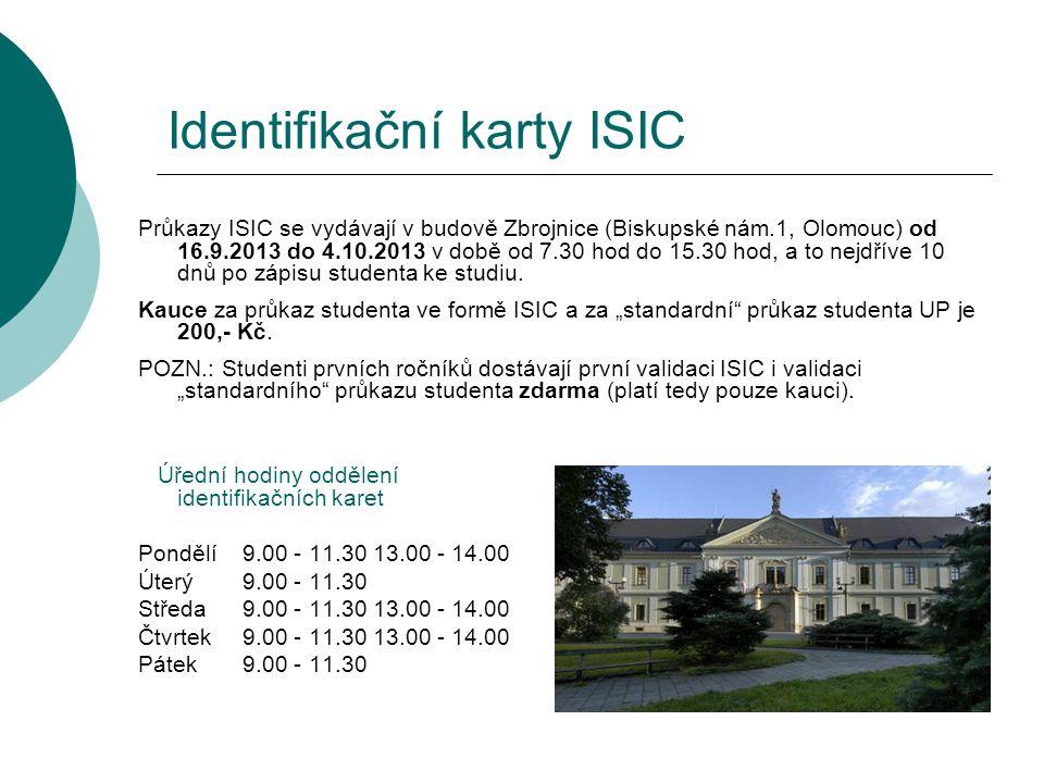 Identifikační karty ISIC