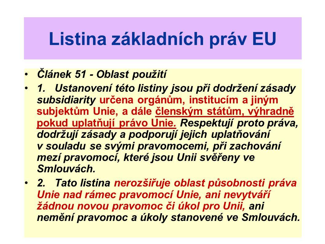 Listina základních práv EU