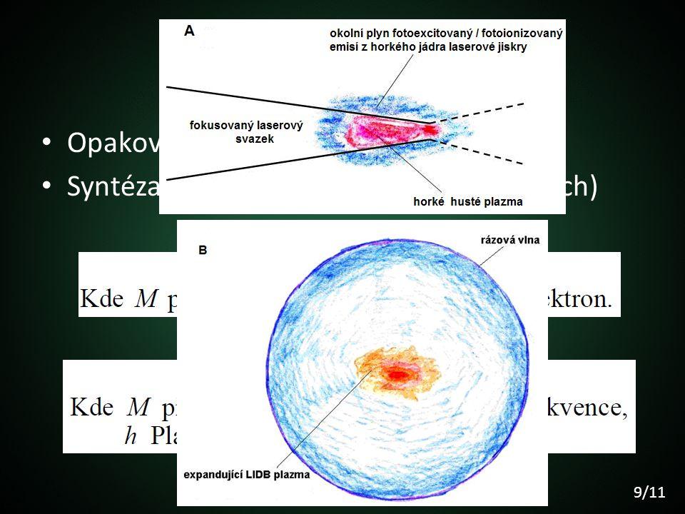 Co se tam děje Opakovaná ionizace elektronů