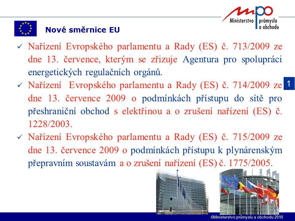 Nové směrnice EU