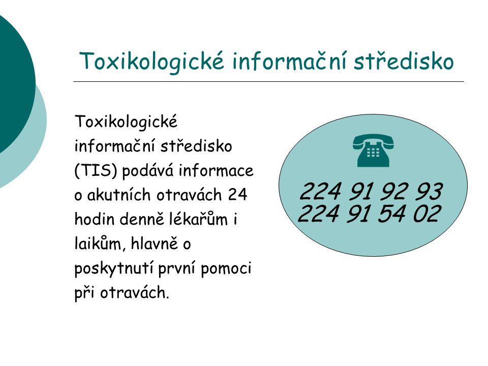 Toxikologické informační středisko
