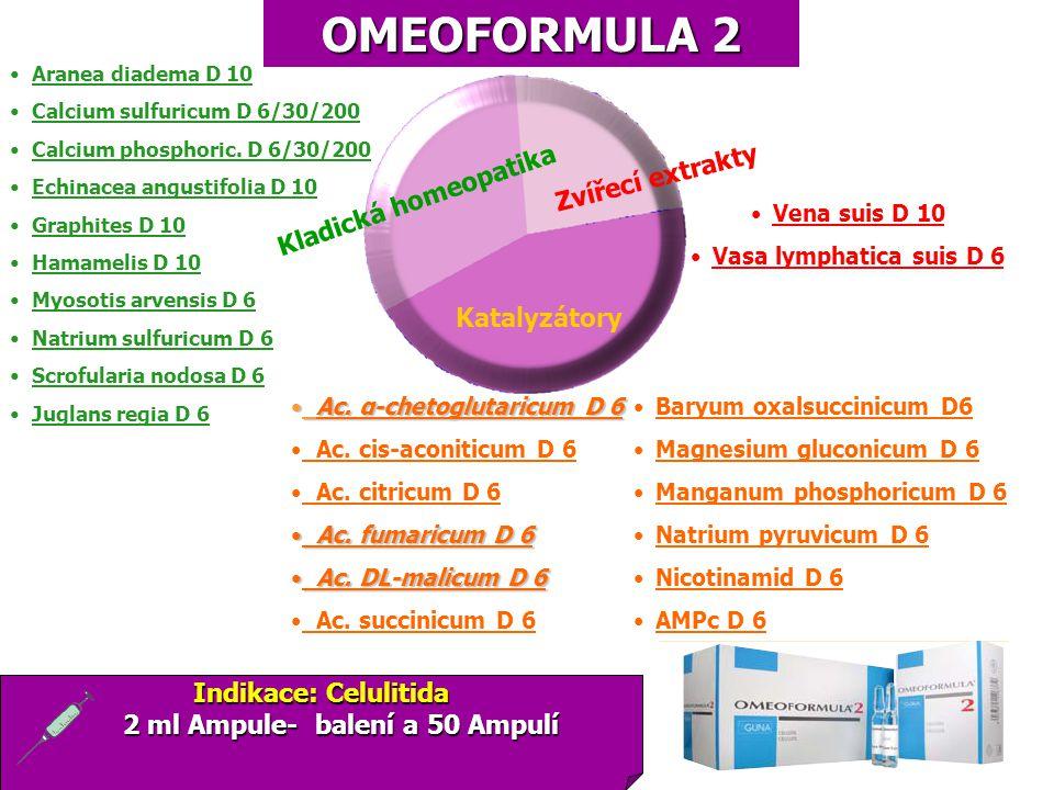 2 ml Ampule- balení a 50 Ampulí