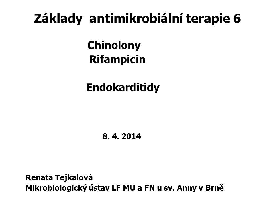 Základy antimikrobiální terapie 6