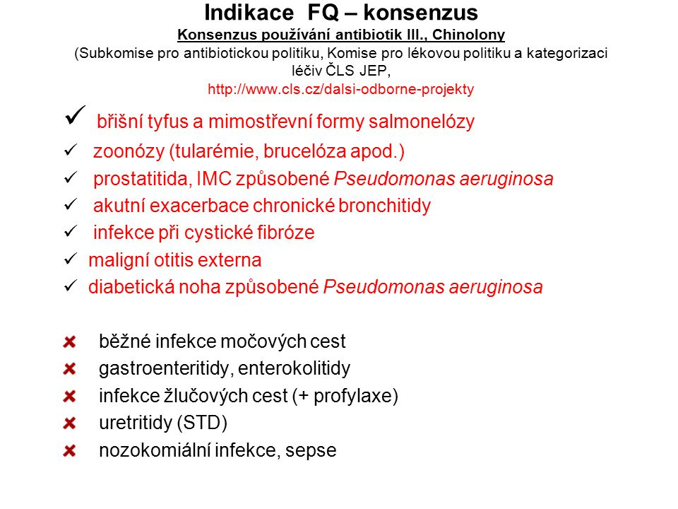 břišní tyfus a mimostřevní formy salmonelózy