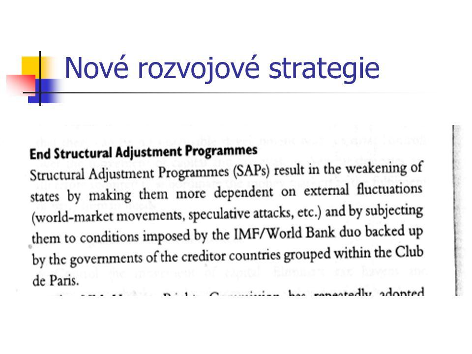 Nové rozvojové strategie