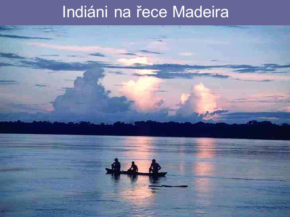 Indiáni na řece Madeira