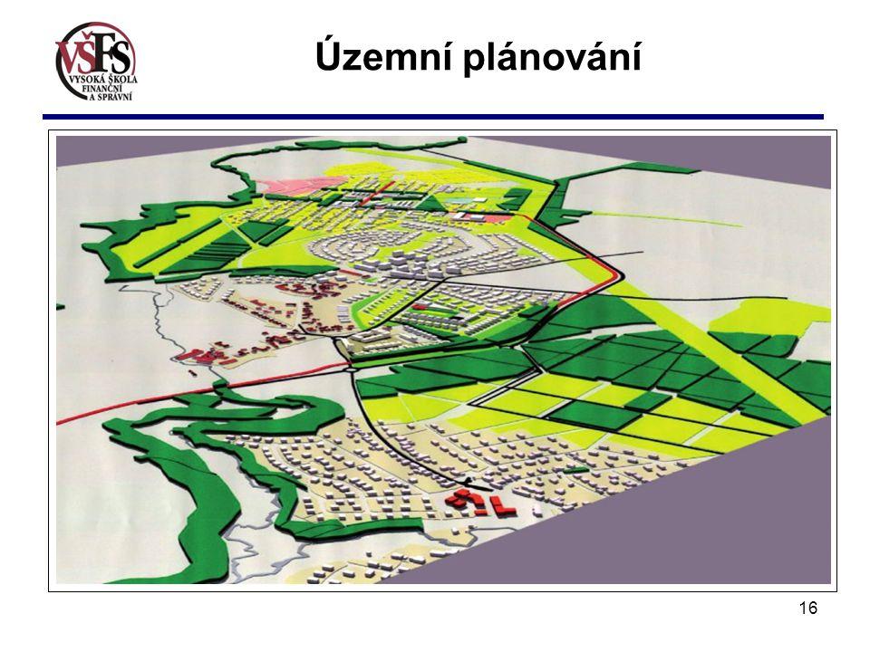 Územní plánování