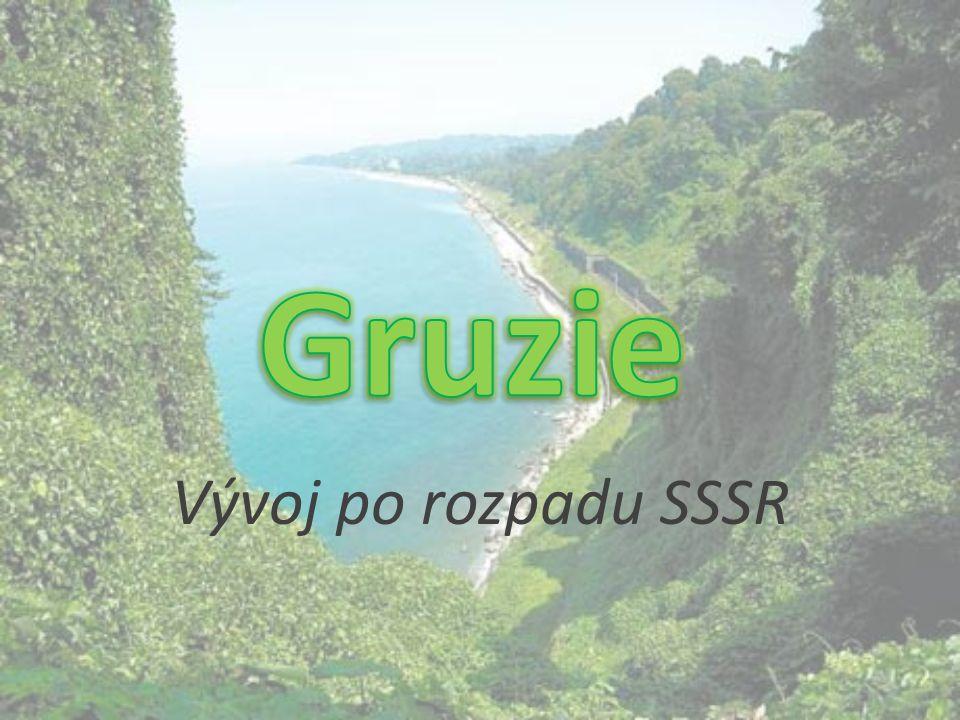 Gruzie Vývoj po rozpadu SSSR