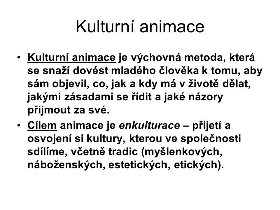 Kulturní animace