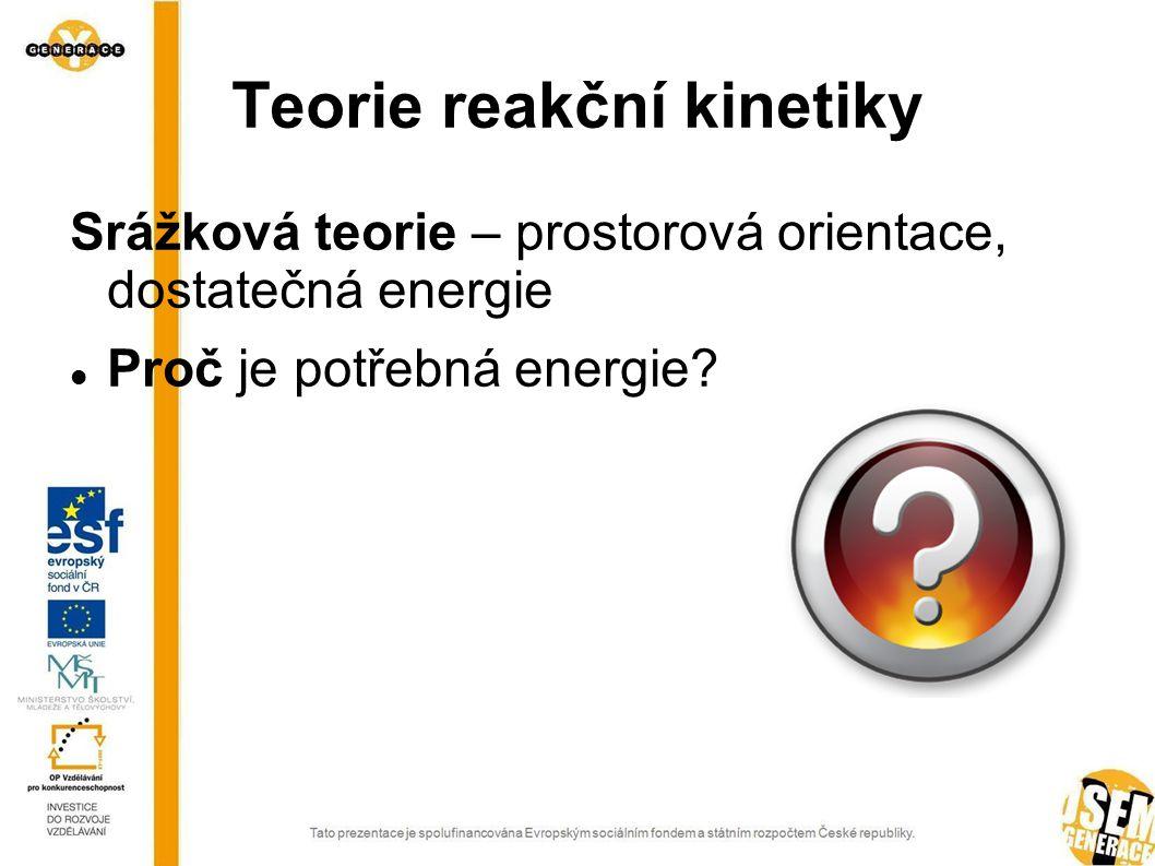 Teorie reakční kinetiky