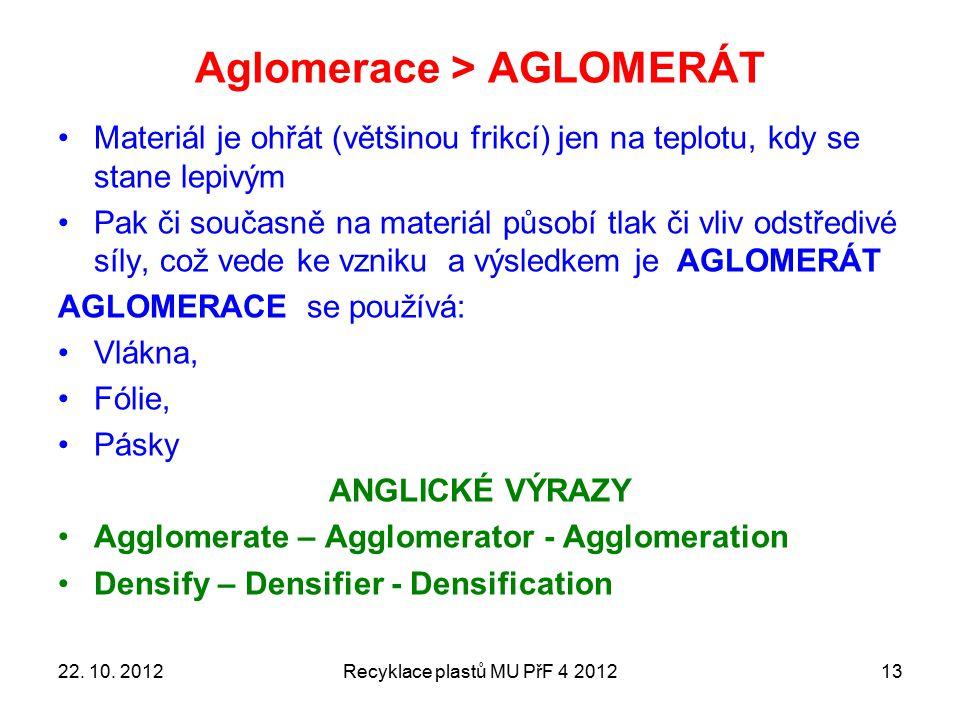 Aglomerace > AGLOMERÁT