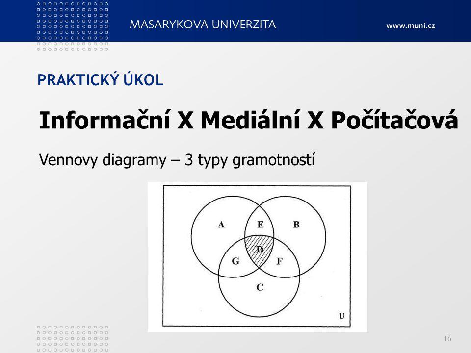 Informační X Mediální X Počítačová