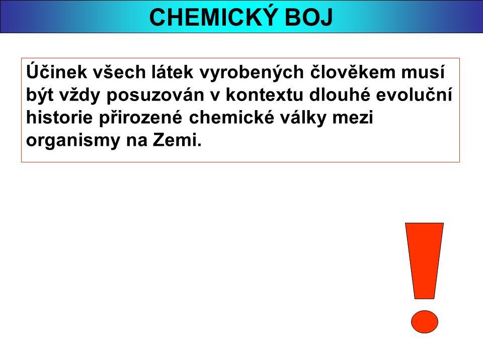 CHEMICKÝ BOJ