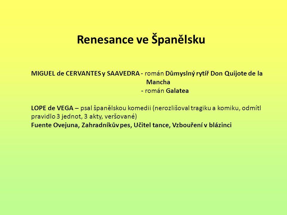 Renesance ve Španělsku