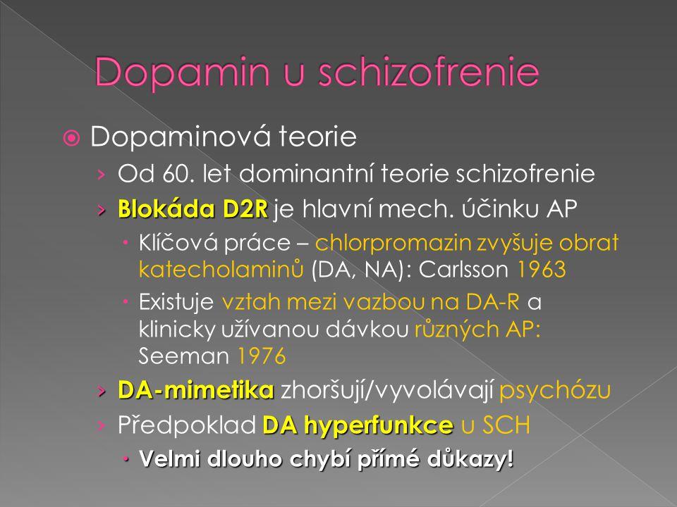 Dopamin u schizofrenie