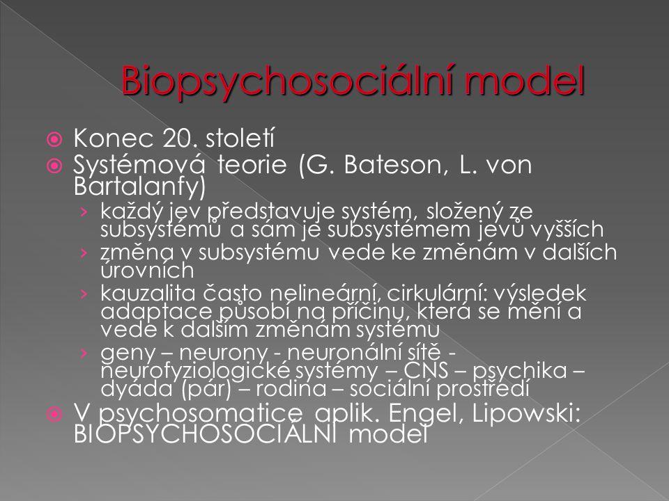 Biopsychosociální model