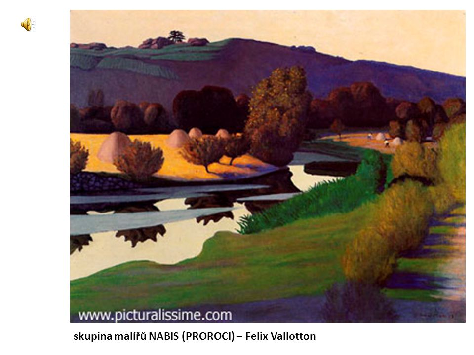 skupina malířů NABIS (PROROCI) – Felix Vallotton