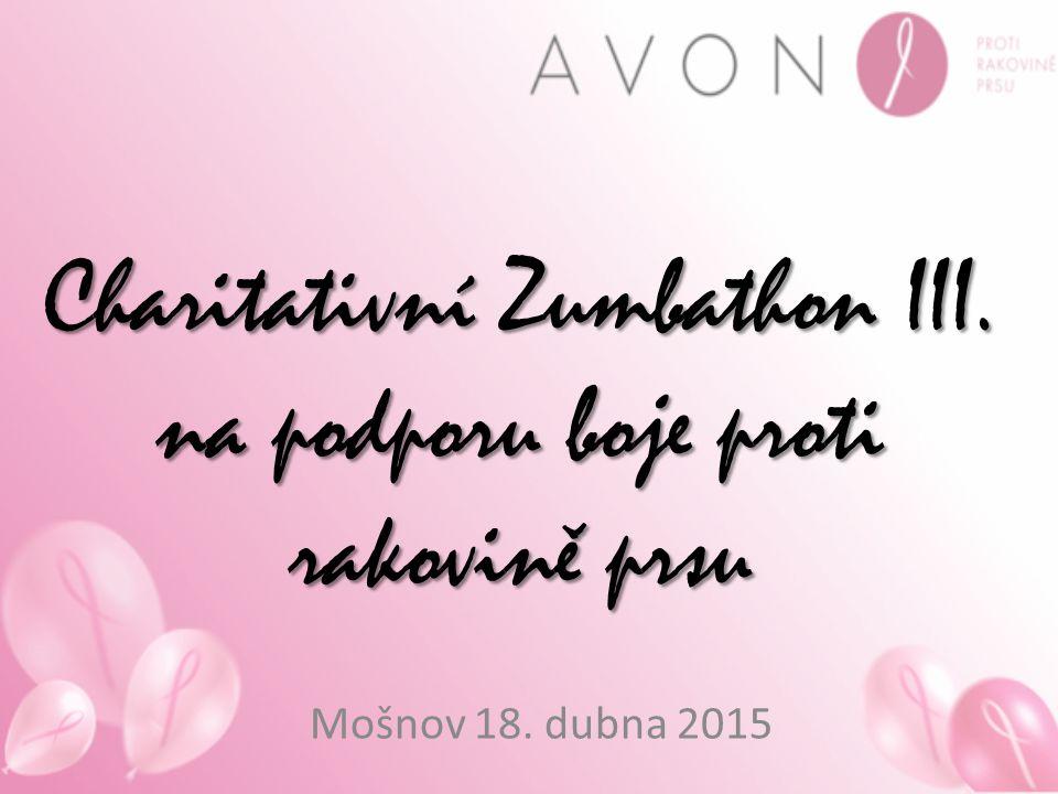 Charitativní Zumbathon III. na podporu boje proti rakovině prsu