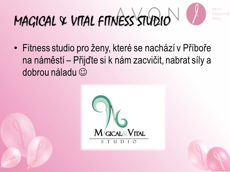 MAGICAL & VITAL FITNESS STUDIO