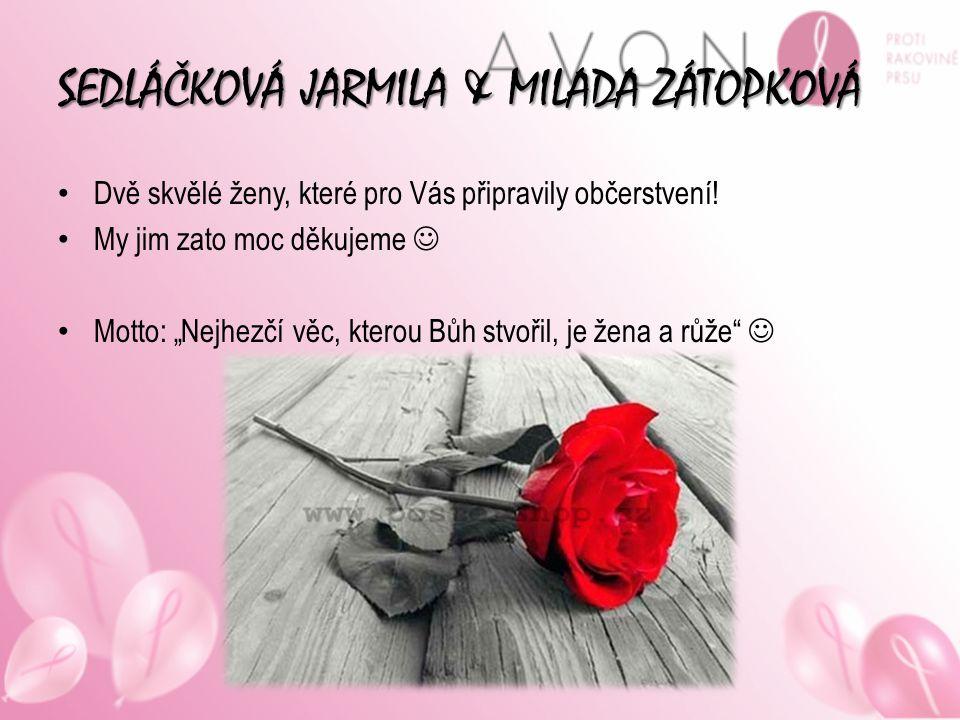 SEDLÁČKOVÁ JARMILA & MILADA ZÁTOPKOVÁ