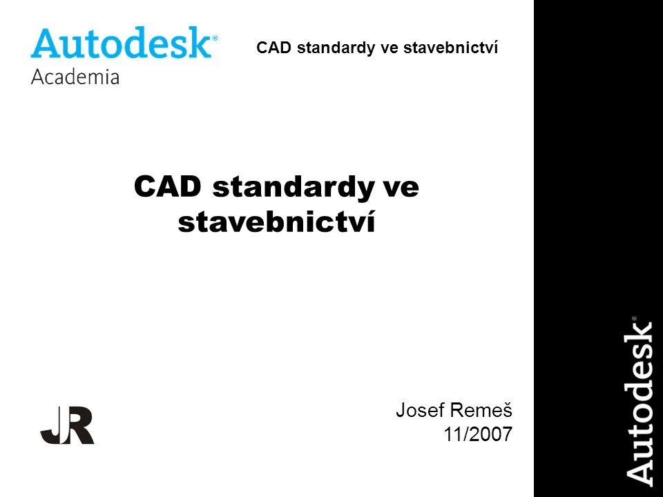 CAD standardy ve stavebnictví