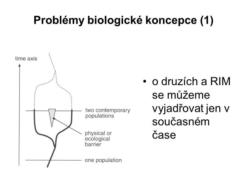 Problémy biologické koncepce (1)