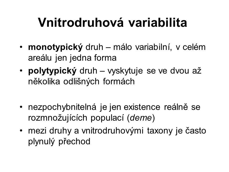 Vnitrodruhová variabilita