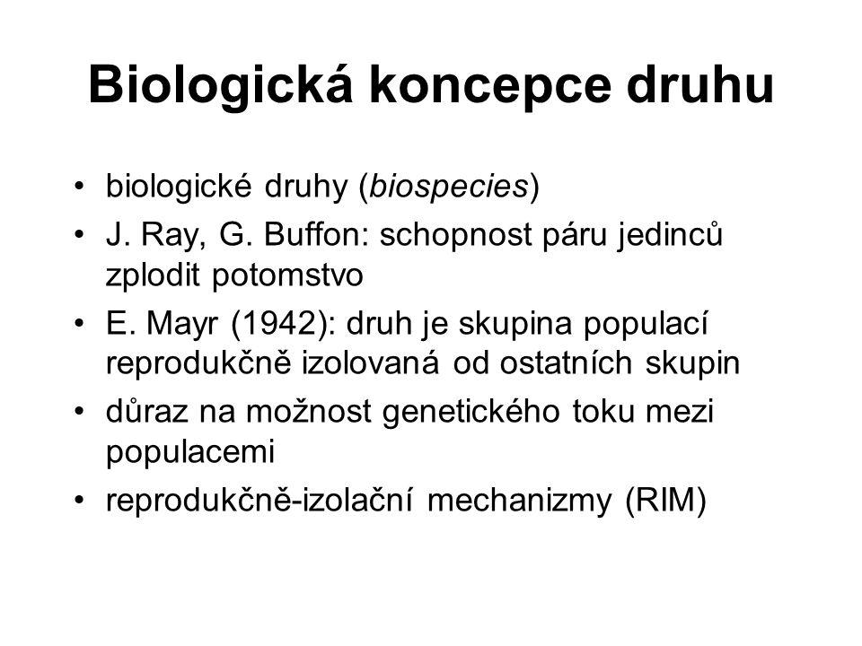 Biologická koncepce druhu