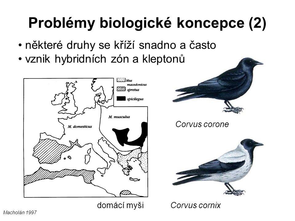 Problémy biologické koncepce (2)