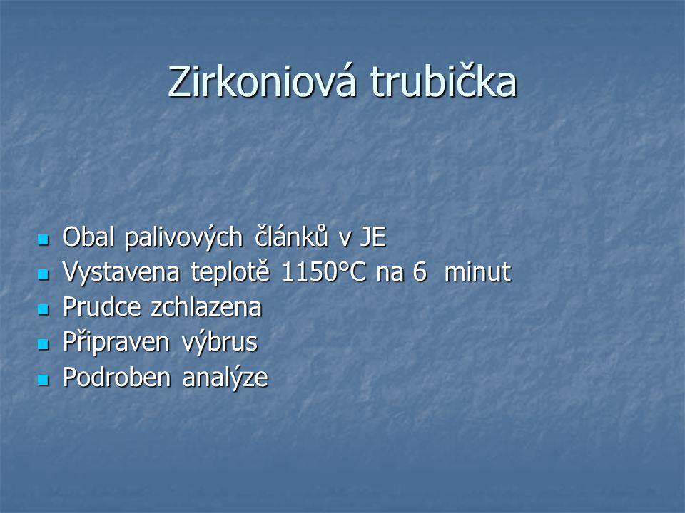 Zirkoniová trubička Obal palivových článků v JE