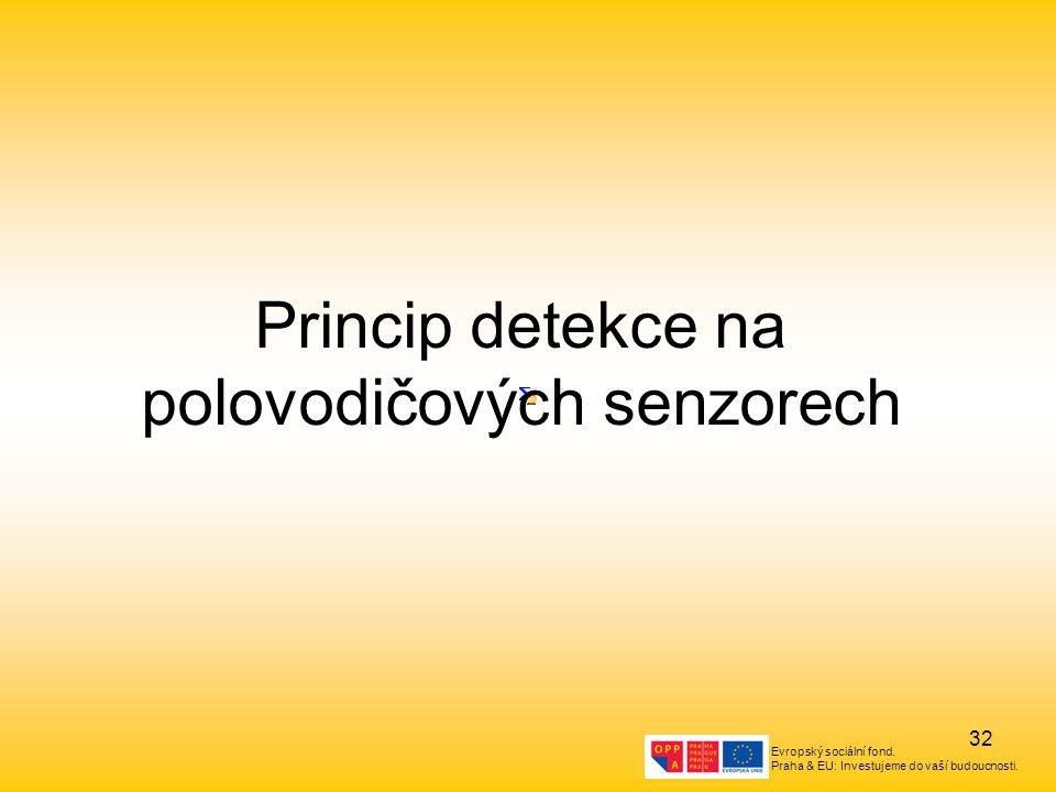 Princip detekce na polovodičových senzorech