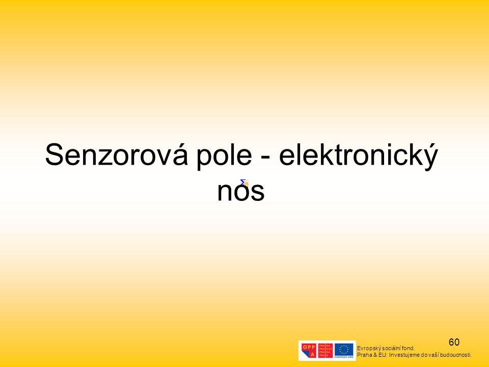 Senzorová pole - elektronický nos