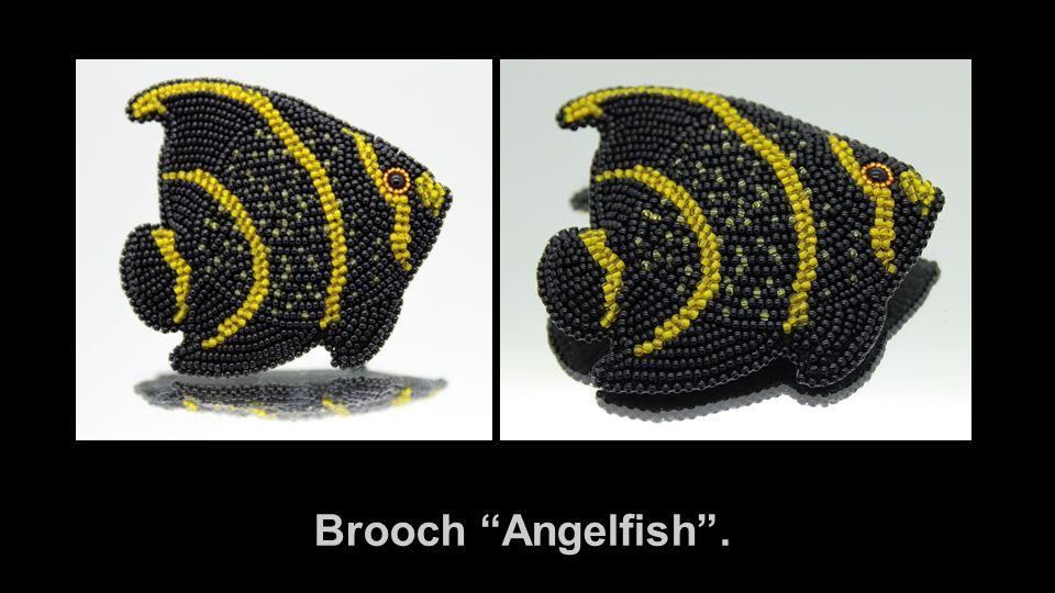 Brooch Angelfish .