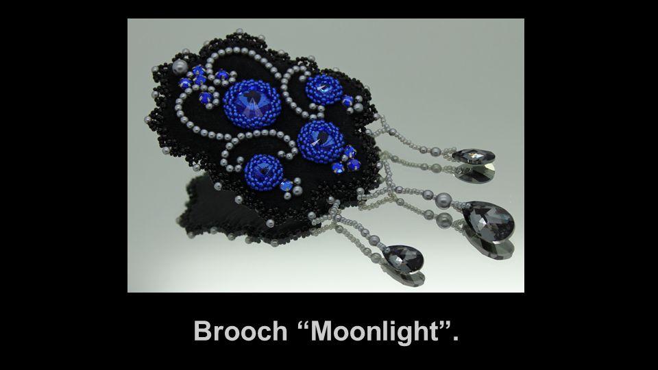 Brooch Moonlight .