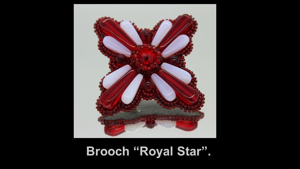 Brooch Royal Star .