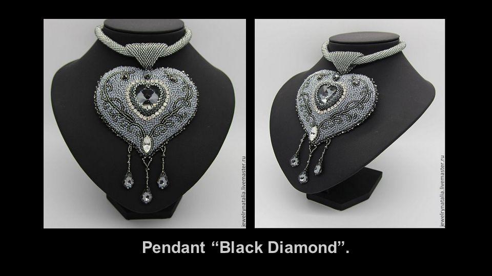 Pendant Black Diamond .