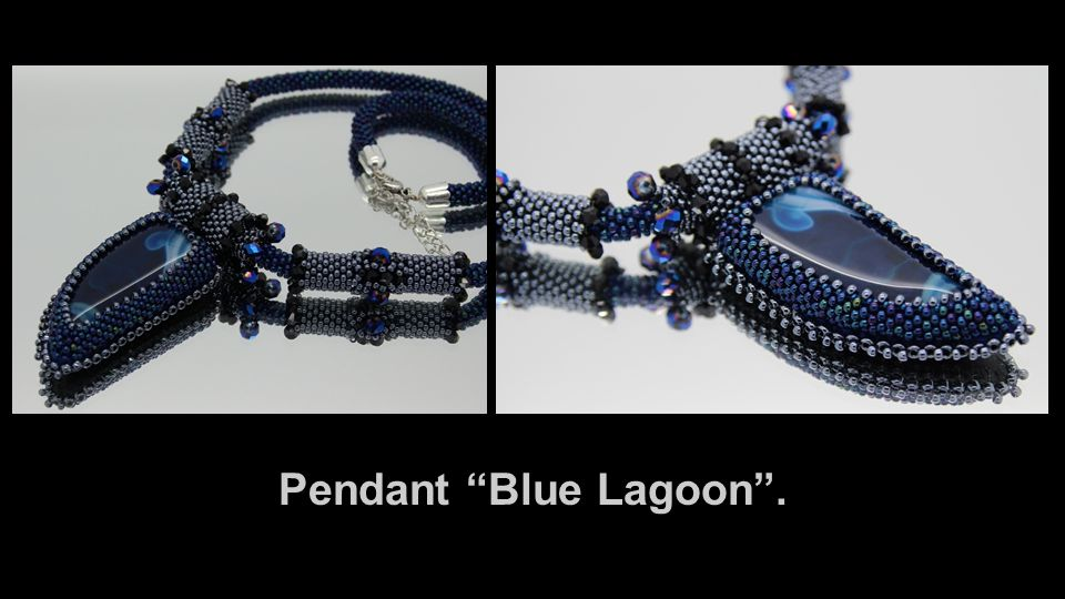 Pendant Blue Lagoon .
