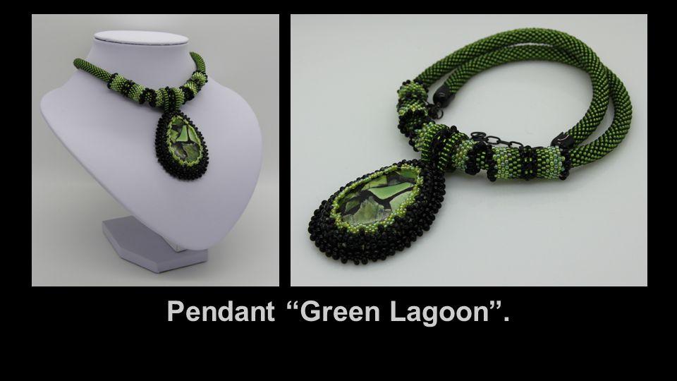 Pendant Green Lagoon .