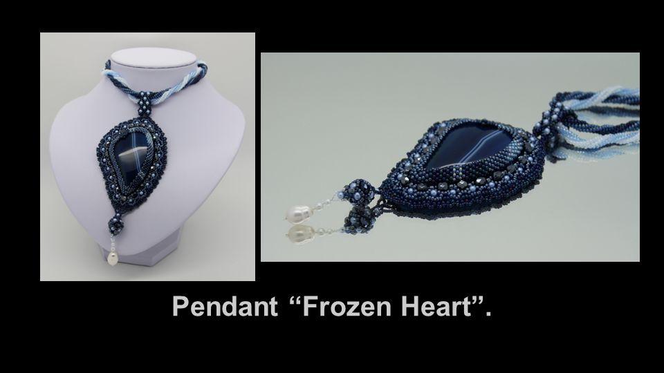 Pendant Frozen Heart .