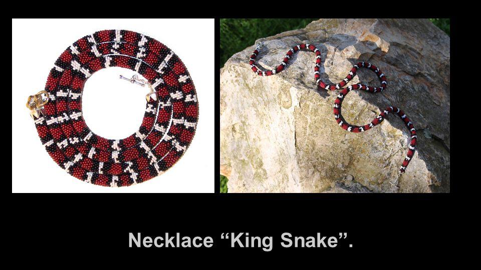Necklace King Snake .