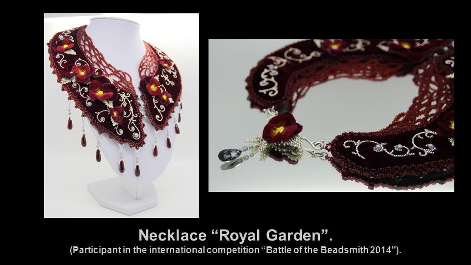 Necklace Royal Garden .