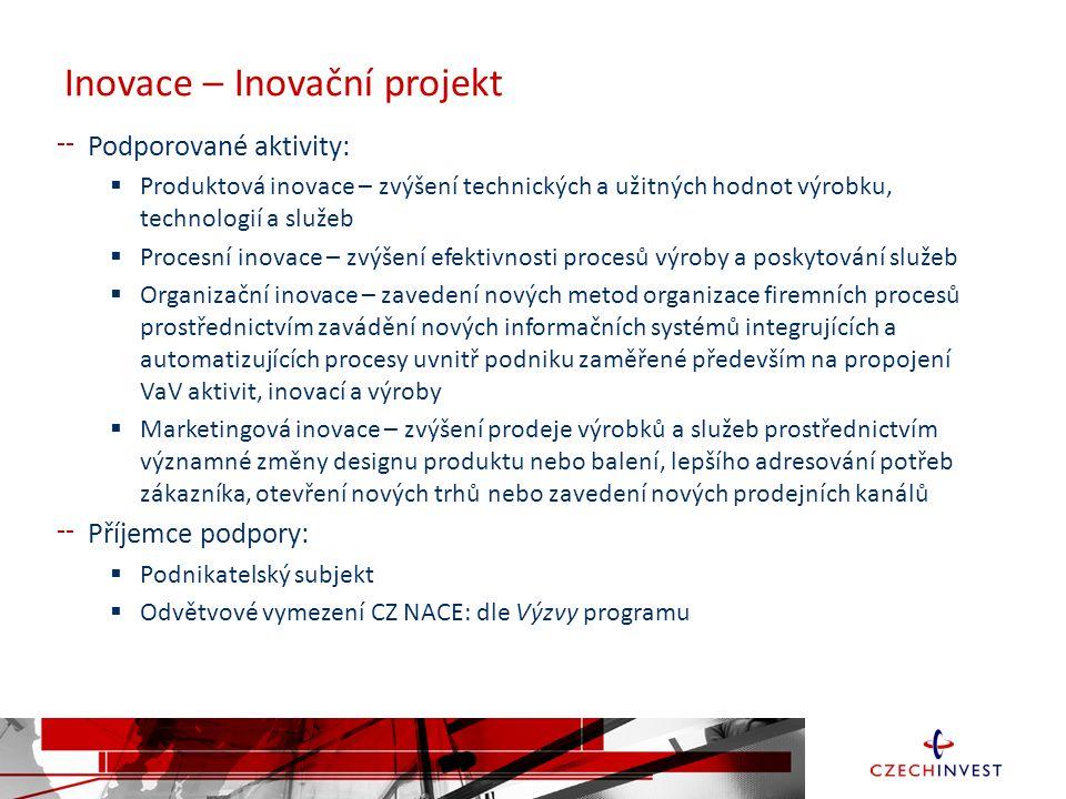 Inovace – Inovační projekt