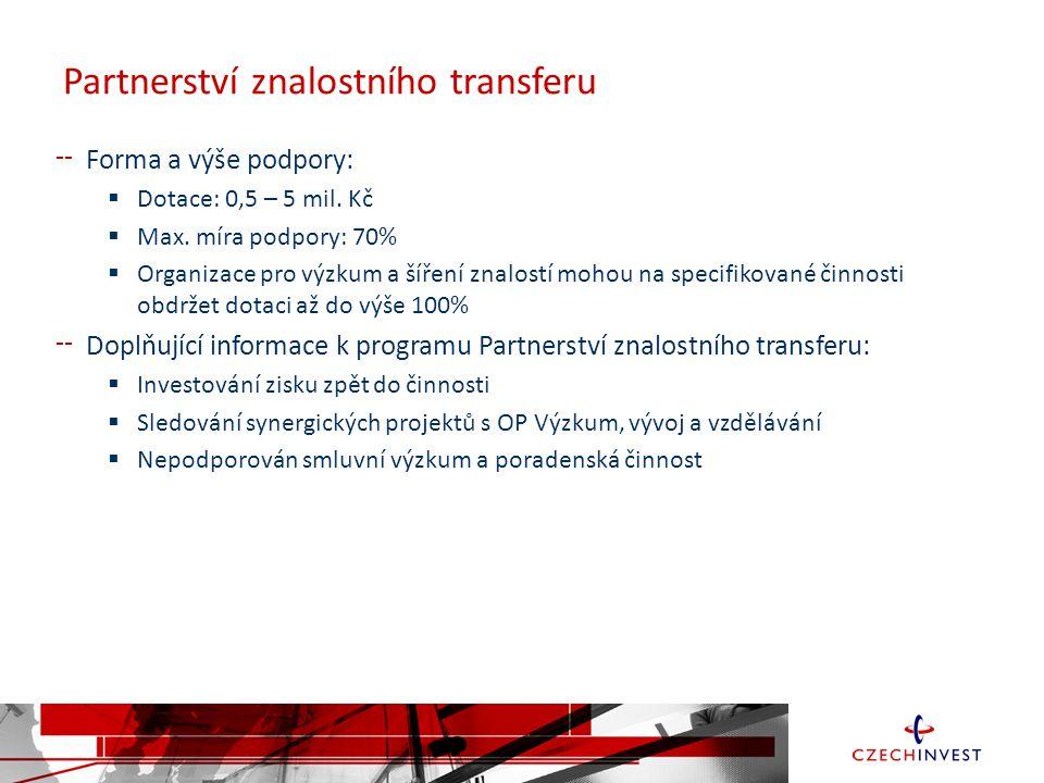 Partnerství znalostního transferu