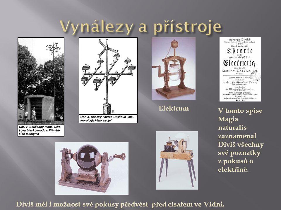 Vynálezy a přístroje Elektrum