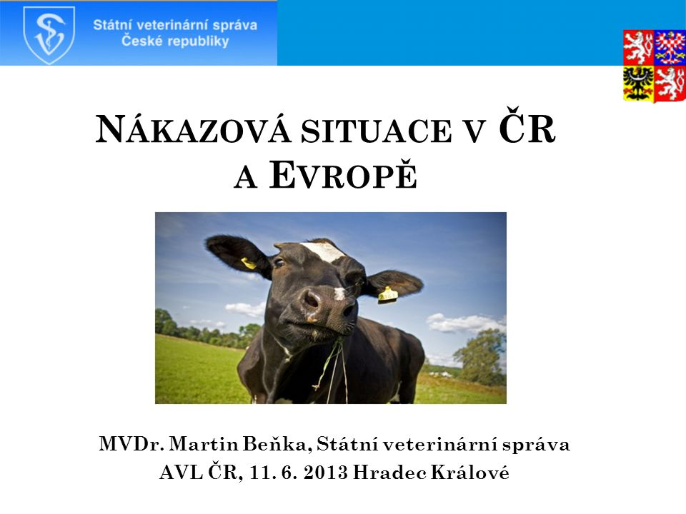 Nákazová situace v ČR a Evropě