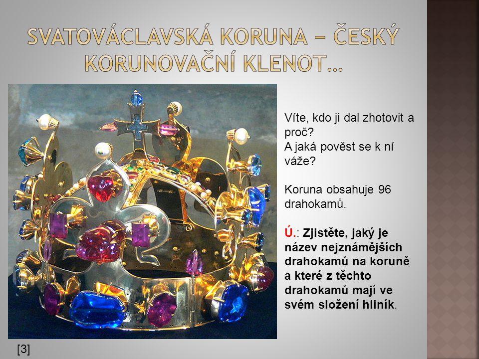 Svatováclavská koruna − český korunovační klenot…
