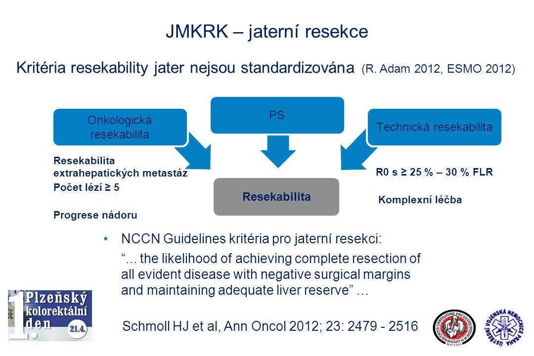 JMKRK – jaterní resekce